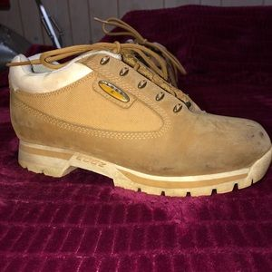 Women's low cut Lugz hiking boots